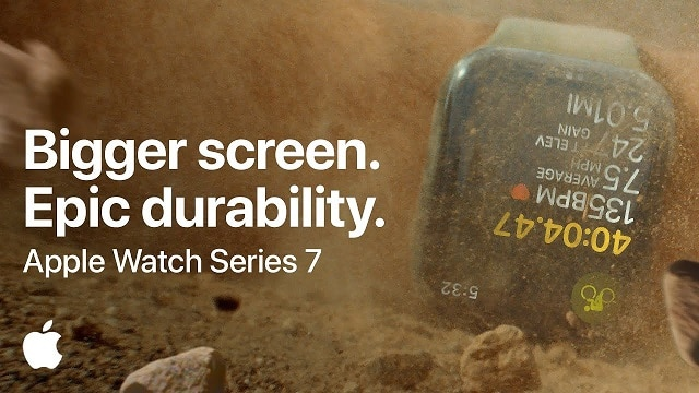 Apple Watch Series 7 - Bigger screen, Epic durability